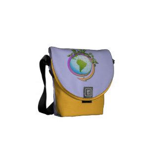 MESSENGER BAG- GREEN EARTH COURIER BAG