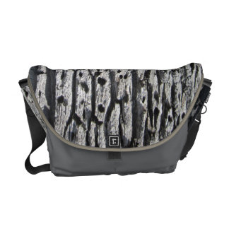 Messenger Bag Oak Bark Pattern