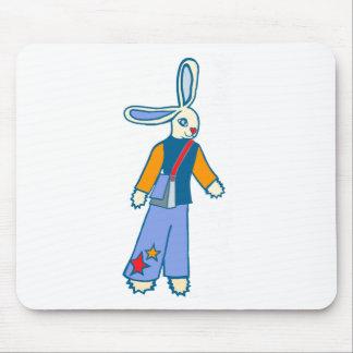 Messenger Bunny Mouse Mat