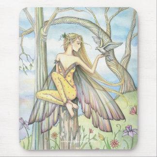 Messenger Fairy Dove Mousepad