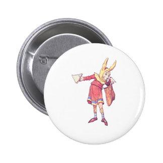 Messenger Haigha 6 Cm Round Badge