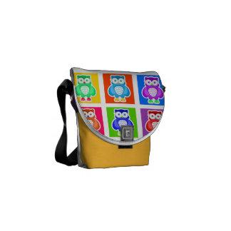 Messenger stock market pq Owls Messenger Bags