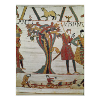 Messengers of Duke William came to find Count Poster