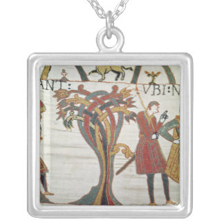 Messengers of Duke William came to find Count Silver Plated Necklace