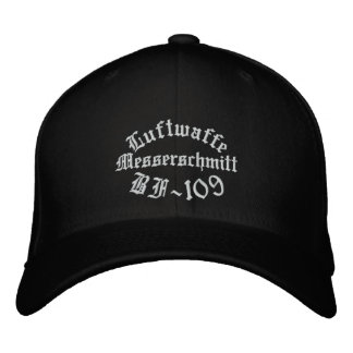 Messerschmitt BF-109 CAP/Hat Embroidered Baseball Cap