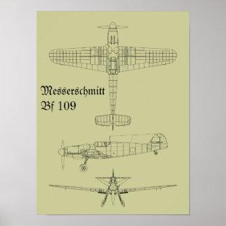Messerschmitt Bf 109 Posters