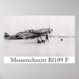 Messerschmitt Bf-109F Poster