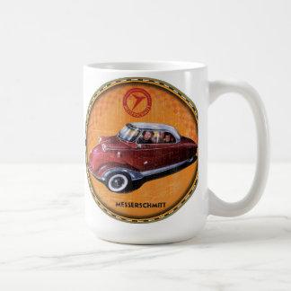 Messerschmitt bubble car sign basic white mug