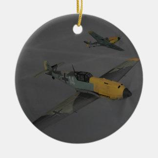 Messerschmitt ME109 Christmas Ornament