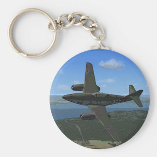 Messerschmitt ME-262 Keychain/Keyring Basic Round Button Key Ring