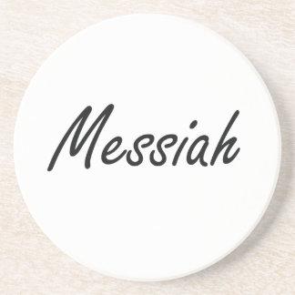 Messiah Artistic Name Design Coaster