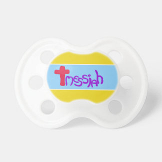 'Messiah' Love Heart Baby Pacifier