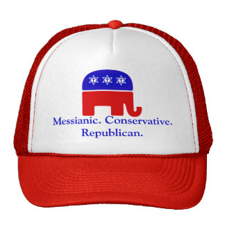 Messianic. Conservative. Republican Cap
