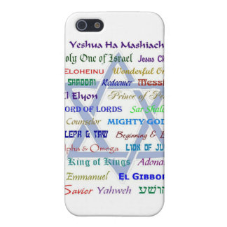 Messianic Names iPhone 5 Cases