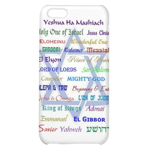 Messianic Names iPhone 5C Case