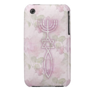 Messianic Seal Floral iPhone 3G/3GS BarelyThere iPhone 3 Covers
