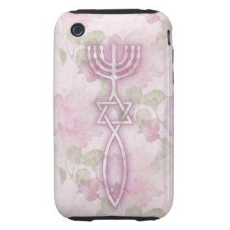 Messianic Seal Floral iPhone 3G/3GS Tough Case