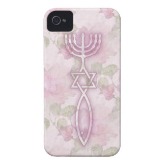 Messianic Seal Floral iPhone 4/4S BarelyThere Case iPhone 4 Case-Mate Case