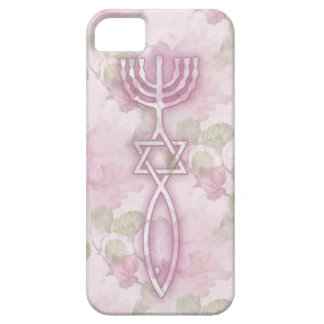 Messianic Seal Floral iPhone 5 BarelyThere Case