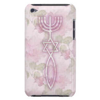 Messianic Seal Floral iPod Touch 4G BarelyThere Case-Mate iPod Touch Case