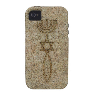 Messianic Seal Stone iPhone 4 Tough Case-Mate Case Vibe iPhone 4 Covers