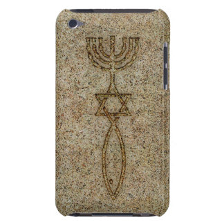 Messianic Seal Stone iPod Touch 4G BarelyThere iPod Touch Case-Mate Case