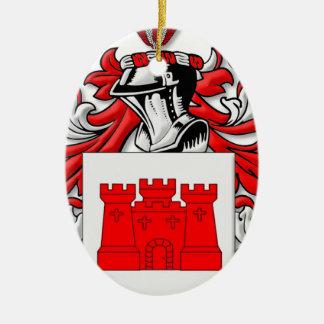 Messick Coat of Arms Ornament
