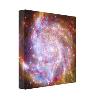 Messier 101 Galaxy Canvas Prints