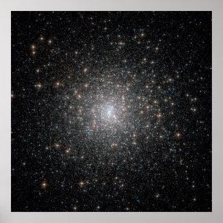 Messier 15 Globular Cluster Poster