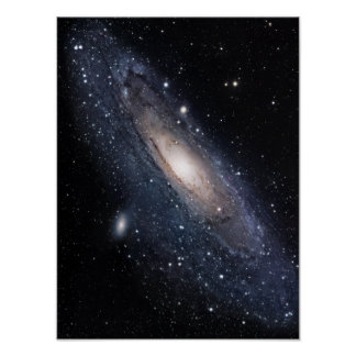 Messier 31, The Great Galaxy in Andromeda Posters