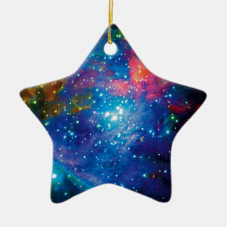 Messier 42 Orion Nebula Infrared ESO Space Photo Christmas Ornament