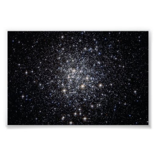 Messier 72, a Celestial City from Above Poster