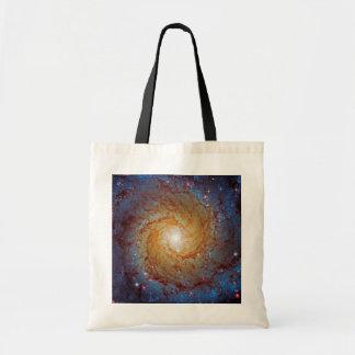 Messier 74 Spiral Galaxy Bags