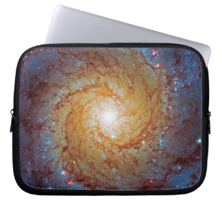 Messier 74 Spiral Galaxy Laptop Sleeves