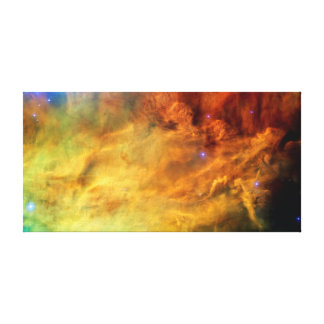 Messier 8 Lagoon Nebula Gallery Wrapped Canvas
