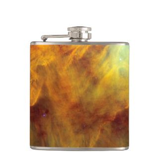 Messier 8 Lagoon Nebula Hip Flask
