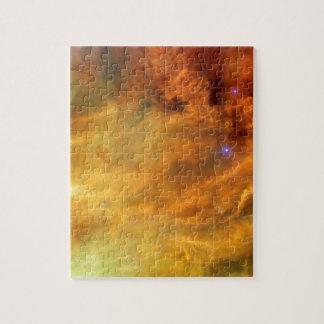 Messier 8 Lagoon Nebula Jigsaw Puzzles
