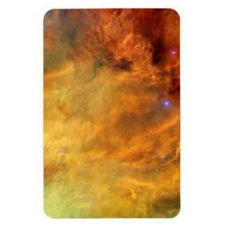Messier 8 Lagoon Nebula Rectangular Photo Magnet