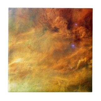 Messier 8 Lagoon Nebula Small Square Tile