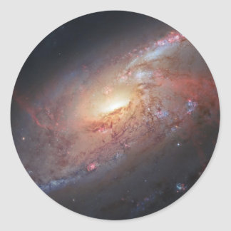 Messier Object 106 Classic Round Sticker