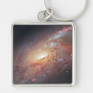 Messier Object 106 Key Chains