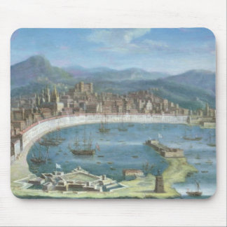 Messina - a Panoramic View of the Port Mouse Mat