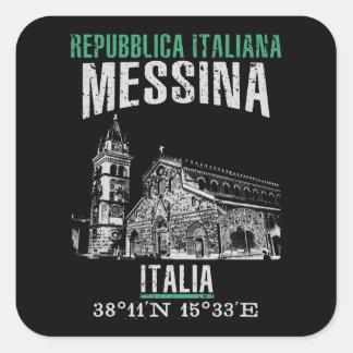 Messina Square Sticker