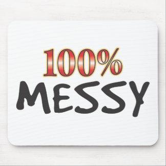 Messy 100 Percent Mousemat