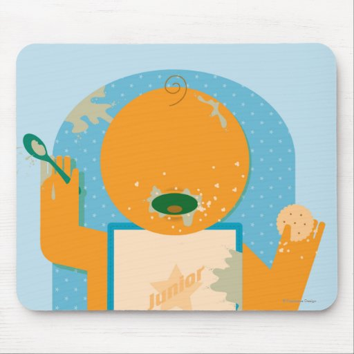 Messy Baby Mouse Pad