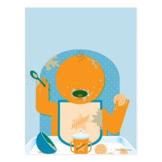 Messy Baby Postcard