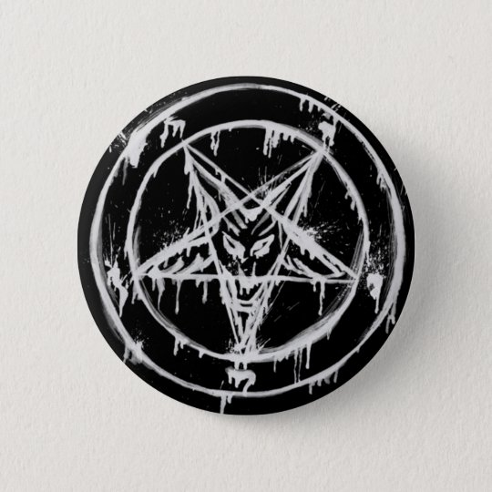 Messy Baphomet Button