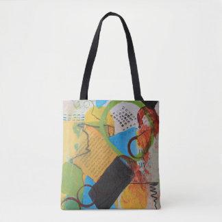 Messy Circles Tote Bag