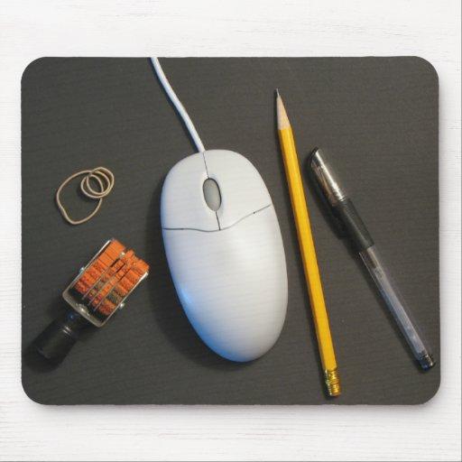 Messy Desk Mouse Pad (Black)