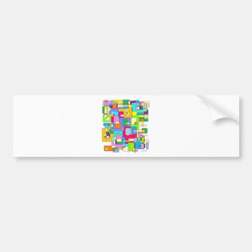 Messy Desks Bumper Sticker